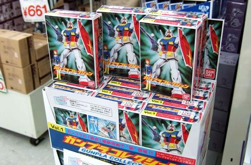 300円ガンプラのミニチュア版 「ガンプラコレクションVol.1」発売