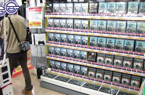 大人気次世代ゲーム機プレステ3、同時発売タイトルの在庫チェック