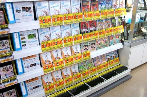 任天堂Wii [ウィー]は、アソビットゲームシティのフロア構成を変えた