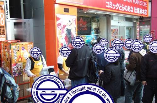 2006年冬コミ・コミックマーケット71カタログ発売日のアキバ こんな感じ