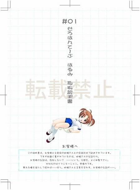 ぷれい☆ステーショナリー初回特典 取扱説明書