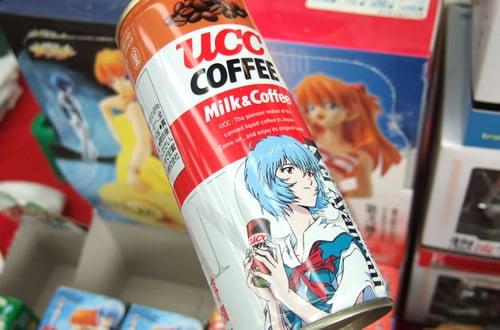 綾波レイ缶 COFFEE ミルク&コーヒー ヱヴァンゲリヲン缶250g