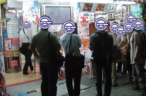 アソビットゲームシティでの店頭デモ