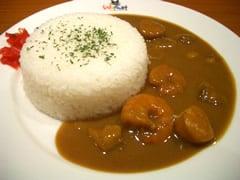 """「ひとひら""""無理です""""cafe」 合宿カレー"""