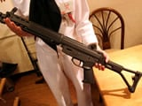 89式小銃折曲銃床式