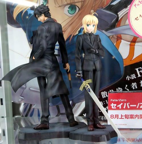Fate/Zero「セイバー」フィギュア&「衛宮切嗣」フィギュア