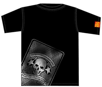 まりたんデスカードTシャツ