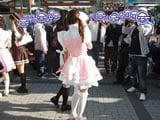 JRア秋葉原駅前のメイド