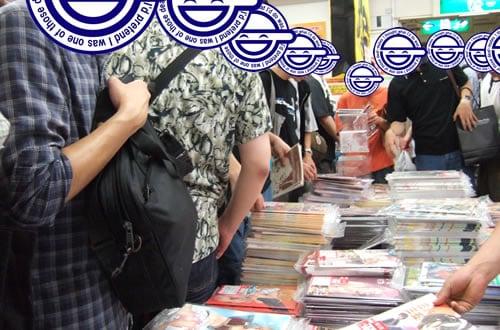 同人フロア拡張効果? 2006年夏コミ最終日の「とらのあな1号店」