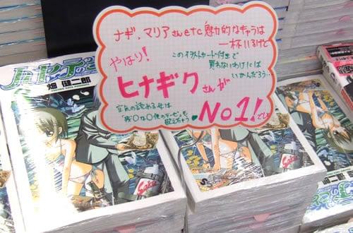 ハヤテのごとく!8巻 「やっぱりヒナギクさんがNo1でしょ」