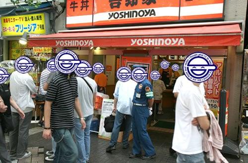 吉野家の牛丼復活、秋葉原中央通り店は午後4時半ごろに完売